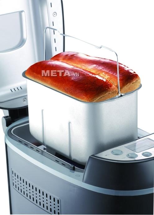 Máy làm bánh mỳ Tiross TS-822 giúp bạn chuẩn bị bữa sáng thật đơn giản