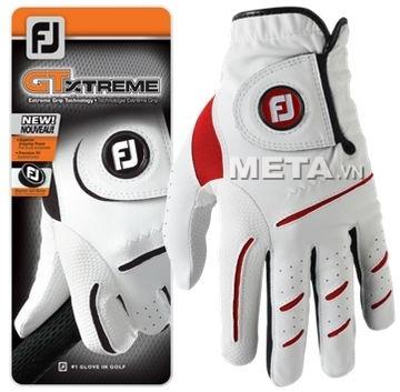 Găng tay golf nam FootJoy GTXTREME MLH ASST AS HD 64819 màu trắng pha đỏ.