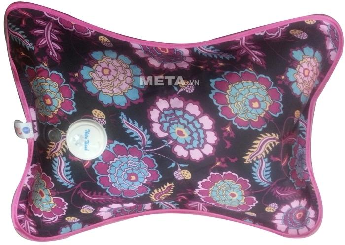 Túi chườm đa năng Thiên Thanh được may chắc chắn, có rơ le ngắt điện khi sạc mang đến sự an toàn cho người dùng.
