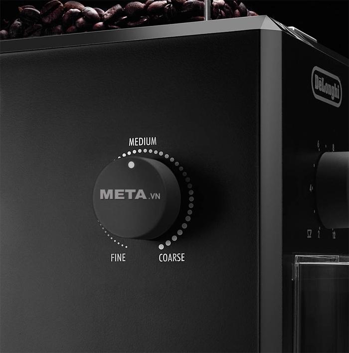 Núm điều chỉnh độ mịn của máy xay cà phê Delonghi KG79