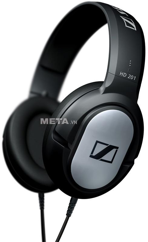 Tai nghe Sennheiser HD 201 công nghệ âm thanh HiFi tuyệt đỉnh, âm bass mạnh mẽ.