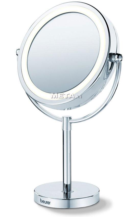 Gương trang điểm 2 mặt kèm đèn led Beurer BS69 là loại gương trang điểm phóng đại