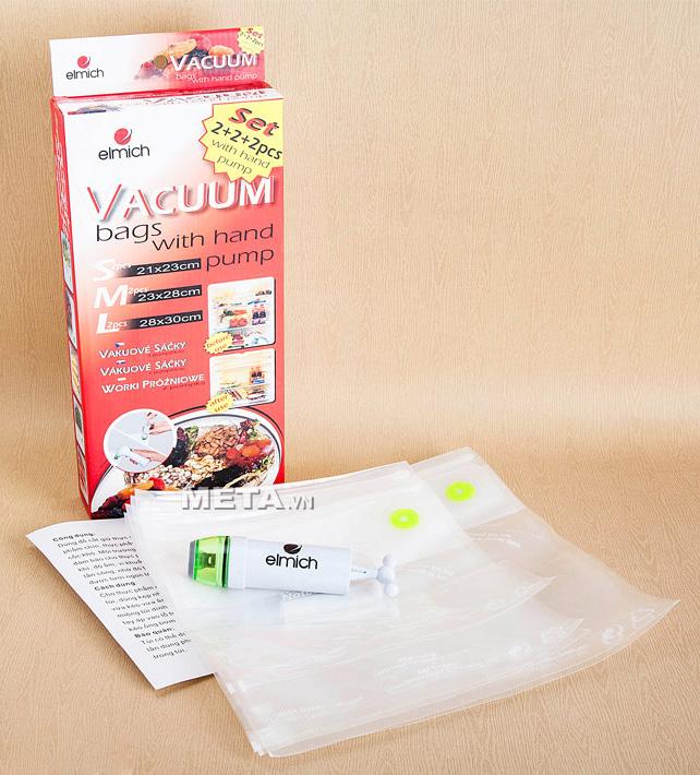 Hình ảnh bộ túi đựng thực phẩm hút chân không Elmich 2343662