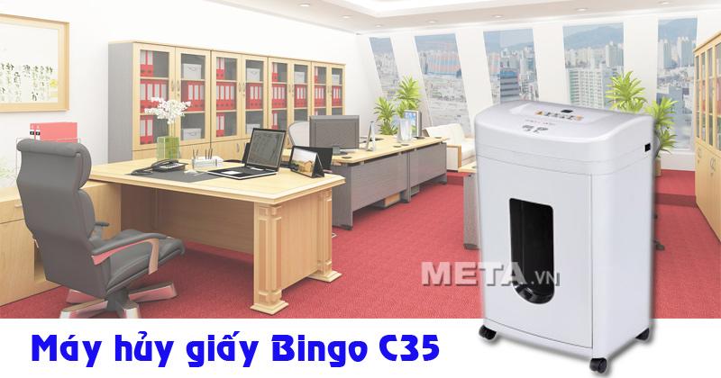 Máy hủy giấy Bingo C35