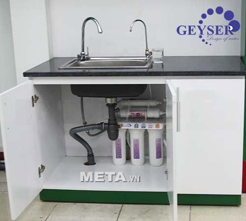 Vị trí lắp đặt máy lọc nước nano Geyser TK5 thích hợp.
