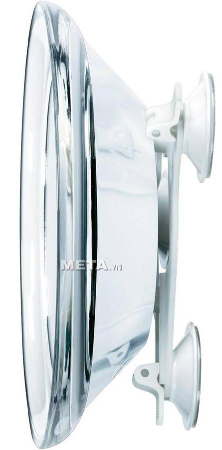Gương trang điểm gắn tường kèm đèn Led FCE79 giúp chị em trang điểm không cần phải cầm tay.