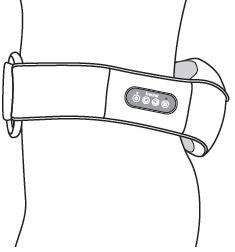 Đai massage lưng, vai, cổ Beurer MG148 có thể massage vùng lưng trên, thắt lưng