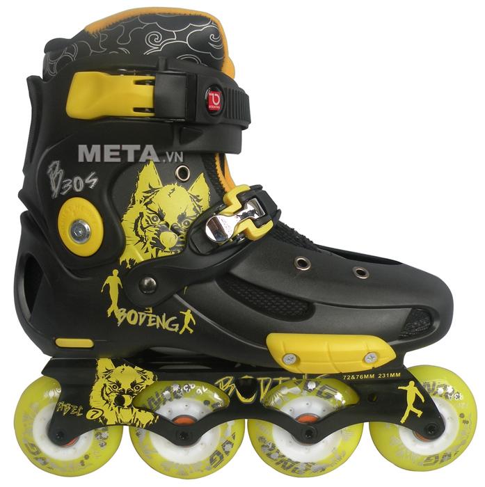 Giầy trượt patin BoDeng B30S màu vàng