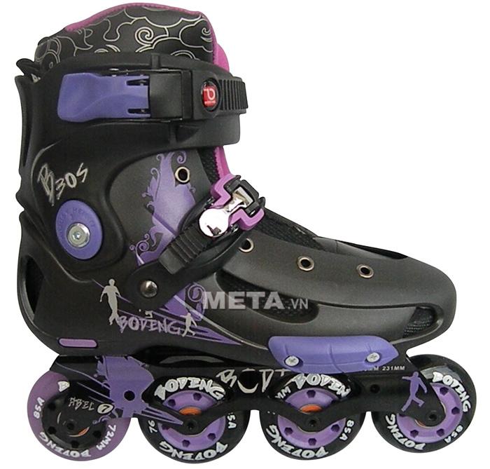 Giầy trượt patin BoDeng B30S màu tím