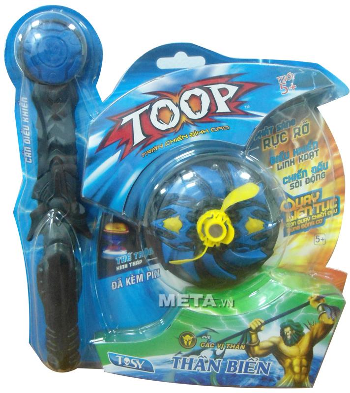 Đồ chơi con quay Tosy đơn - Thần biển