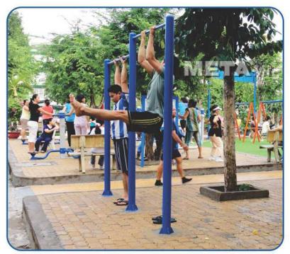 Xà đơn Vifa Sport VIFA-711214 được lắp đặt tại hầu hết các công viên