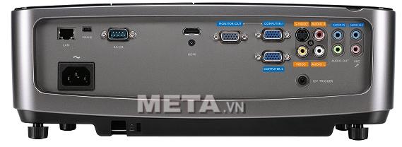 Cổng kết nối của máy chiếu BenQ MX722