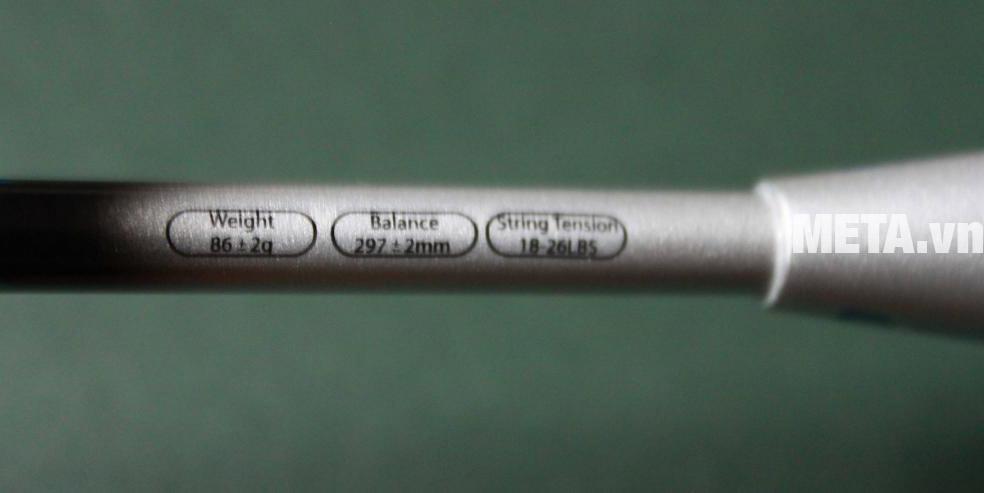 Cách chọn vợt cầu lông theo thông số vợt.