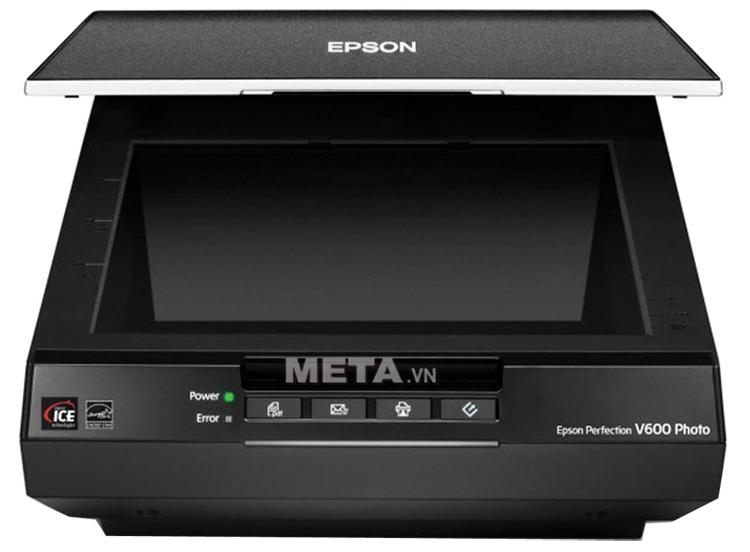Máy quét Scanner Epson V600 photo có khả năng scan màu và scan đen trắng.