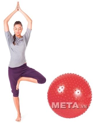 Tập luyện với bóng tập Yoga cao cấp có gai tốt cho sức khỏe