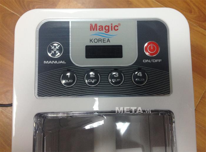 Bảng điều khiển của máy làm mỳ tươi Magic Korea A92