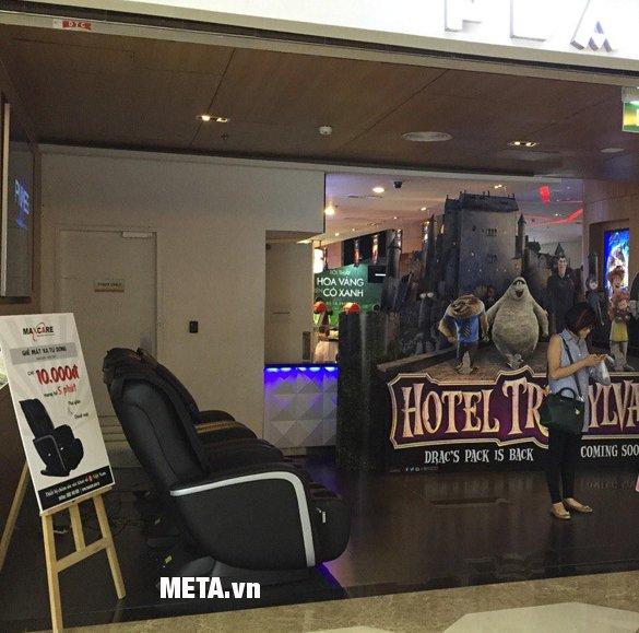 Ghế massage tính tiền tự động Maxcare Max 655 thích hợp đặt những nơi công cộng