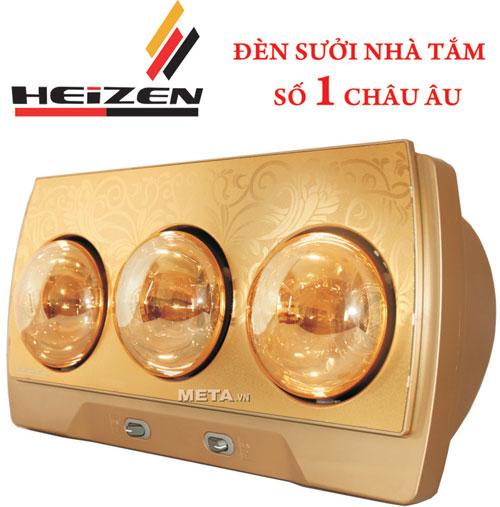 Đèn sưởi nhà tắm Haizen sự lựa chọn hoàn hảo cho mùa đông