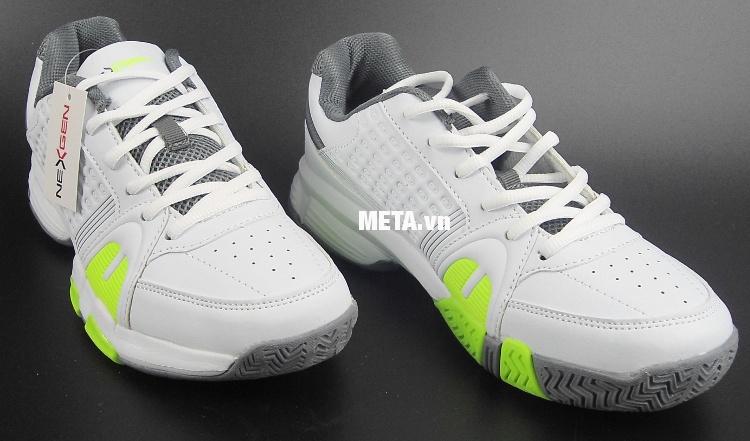 Giầy tennis nam Nexgen NX-4411 màu trắng xanh