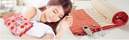 Chăn điện cho bạn giấc ngủ êm ái và thoải mái.