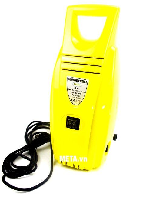Máy rửa xe cao áp HiClean HC 110 hoạt động mạnh mẽ với công suất 1500W
