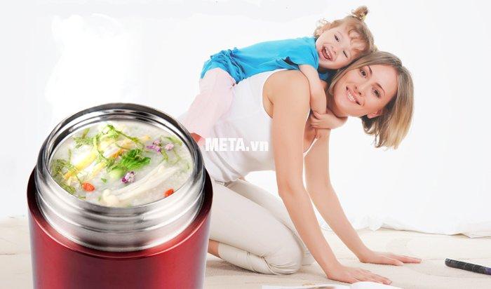 Bình ủ thức ăn cao cấp Kahchan XFJ5-50 giữ nhiệt hiệu quả