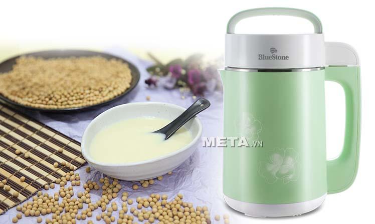Với máy xay đậu nành, bạn có thể thưởng thức ly sữa đậu nành thơm ngon chỉ sau 25 phút.