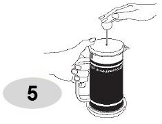 Ấn phin nén bình pha cà phê Bialetti kiểu Pháp 1L 990003190 như hình 5