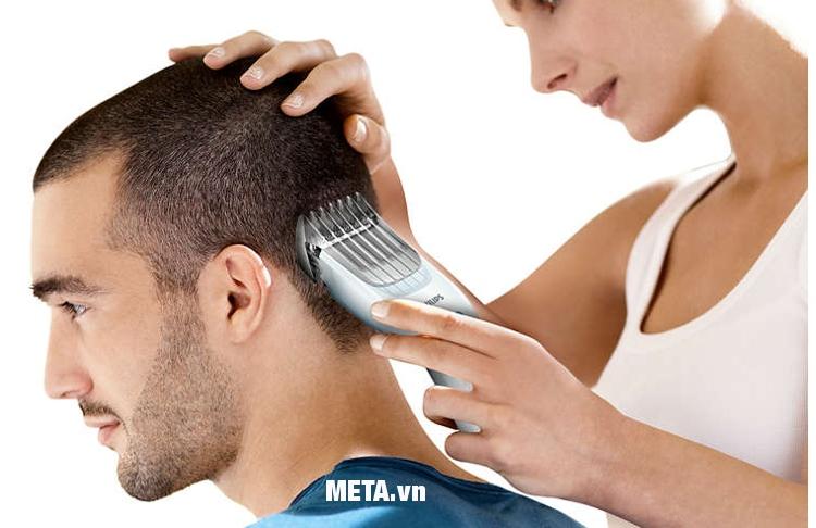 Tông đơ cắt tóc Philips HC3426 mang lại cho phái mạnh kiểu tóc đẹp như mong ước.