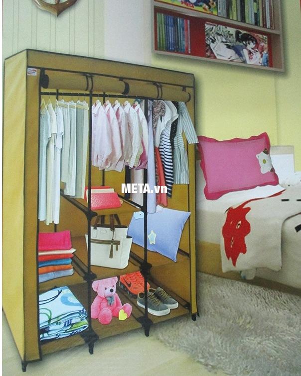 Tủ vải Thanh Long TVAI14 màu vàng nghệ