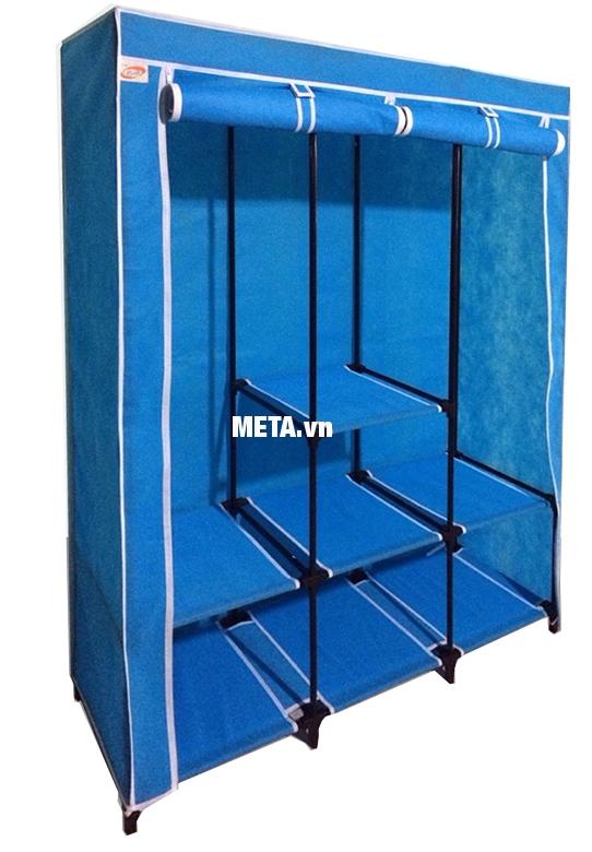 Tủ vải Thanh Long TVAI14 thiết kế vững chắc giúp bạn đựng được nhiều đồ hơn.