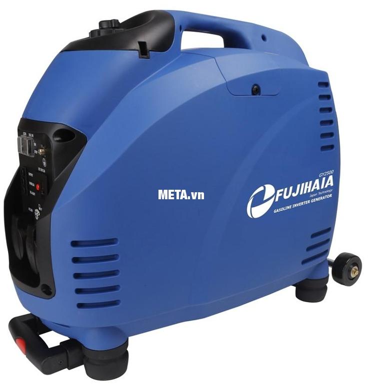 Máy phát điện biến tần kỹ thuật số Fujihaia GY2500 có tần số ổn định, giúp các thiết bị hoạt động ổn định hơn.