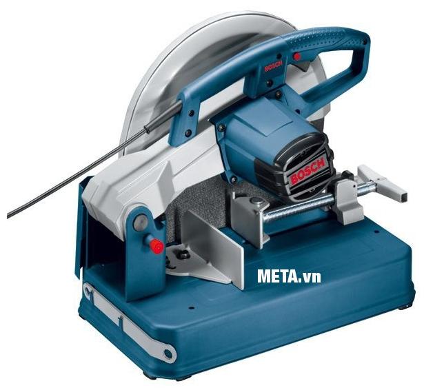 Máy cắt sắt Bosch GCO 200 thiết kế công tắc tiện lợi ngay trên tay cầm.