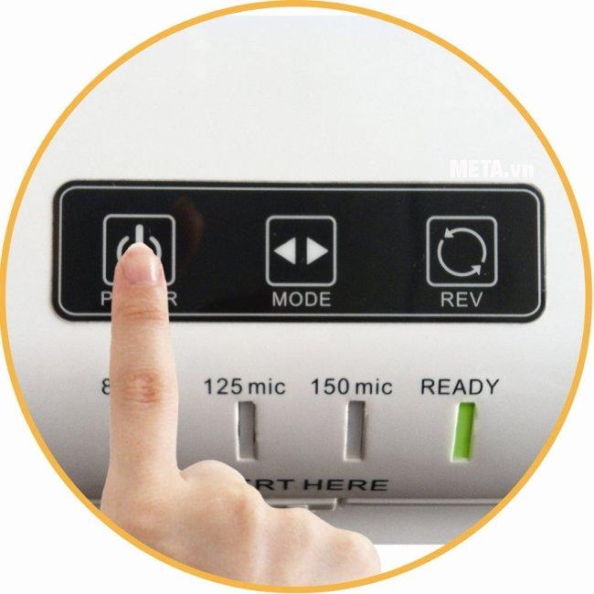 Máy ép Plastic DSB FL-806 cho khả năng ép nóng nhanh chóng