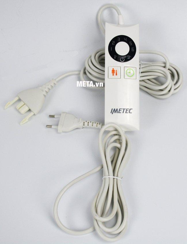Jack kết nối nguồn điện của chăn điện đơn Relaxy Italy 6900C