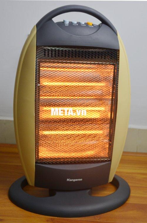 Đèn sưởi Halogen Kangaroo KG1011C làm ấm tức thì