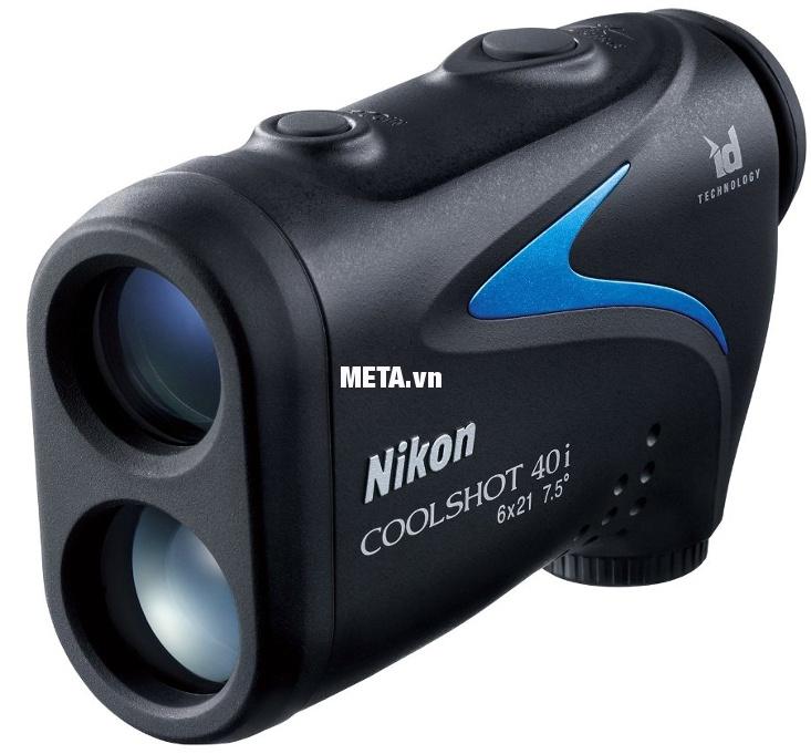 Ống nhòm đo khoảng cách Nikon Coolshot 40i thiết kế nhỏ gọn, vừa vặn tay cầm.