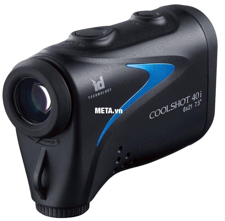 Ống nhòm đo khoảng cách Nikon Coolshot 40i có khả năng chống thấm nước hiệu quả, độ bền cao.