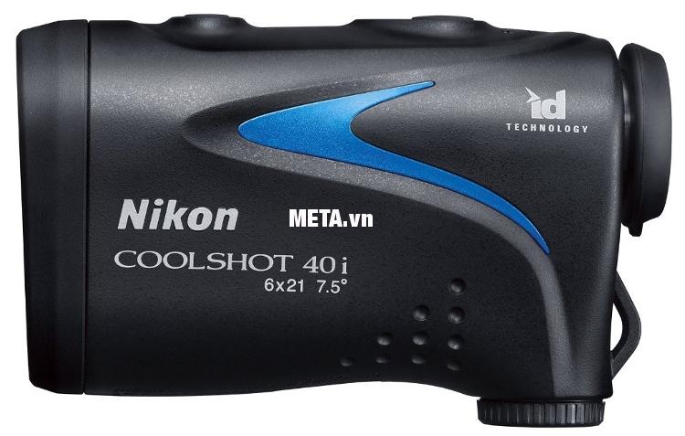 Ống nhòm đo khoảng cách Nikon Coolshot 40i giúp tự tin hơn trong từng phát đánh.