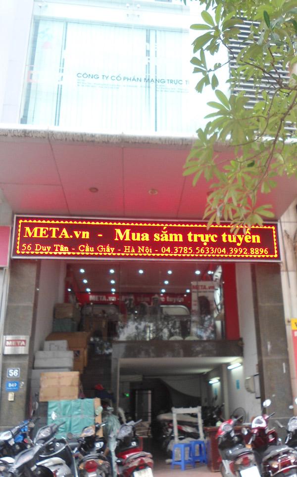 Địa chỉ META bán hàng tại Hà Nội