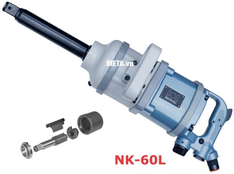 """Súng vặn bu lông Nichiku NK-60L (1"""")"""