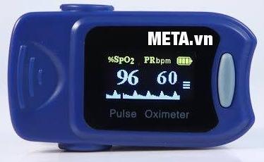 Máy đo nhịp tim và spo2 iMediCare iOM A5 có thể xoay 4 hướng.