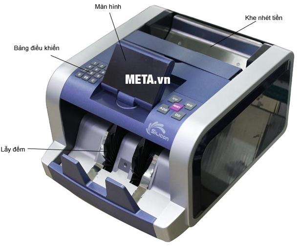 Cấu tạo của máy đếm tiền Silicon MC-2300