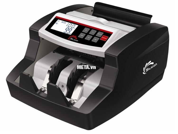 Máy đếm tiền Silicon MC-2700 dễ dàng sử dụng.