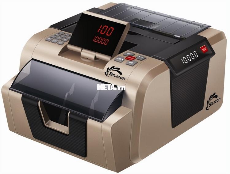 Máy đếm tiền Silicon MC-2900 gọn nhẹ, kiểu dáng sang trọng, dễ dàng đặt ở mọi không gian.