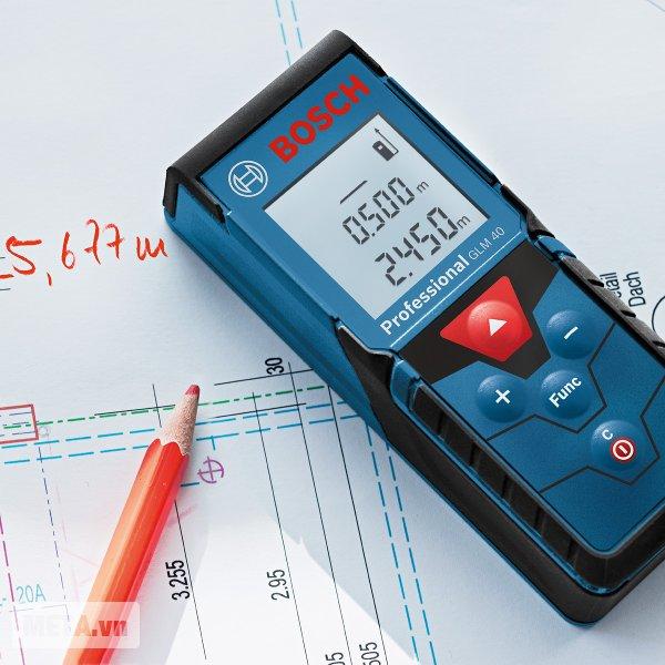 Máy đo khoảng cách laser Bosch GLM 40