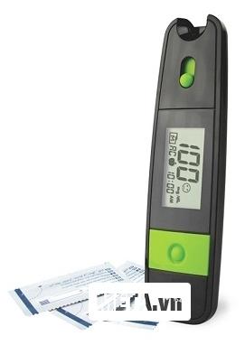 Máy đo đường huyết Uright TD4265 trang bị màn hình LCD rõ nét.