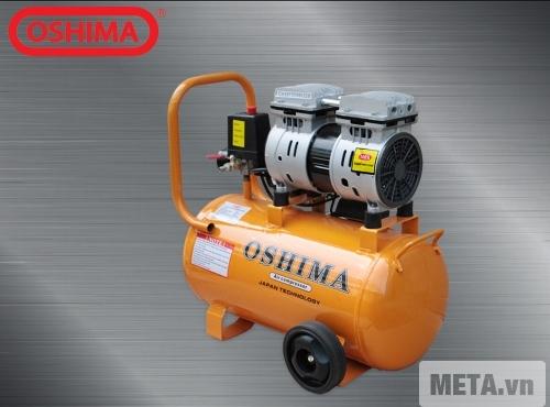 Máy nén khí không dầu Oshima 24L sạch sẽ, không tạo độ ồn