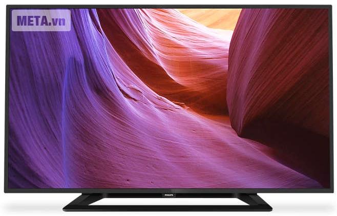 Tivi LED Philips 40 inch 40PFT5100S/98 có chất lượng hình ảnh Full HD.