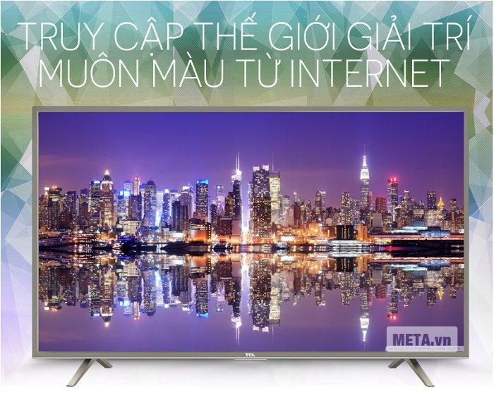 Smart Tivi TCL L32S4700 32 inch có thiết kế cực sang trọng.